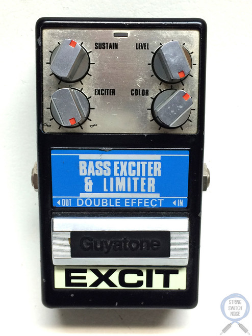 Guyatone PS-020, Bass Exciter Limiter, Made In Japan, 80's, Effect Pedal