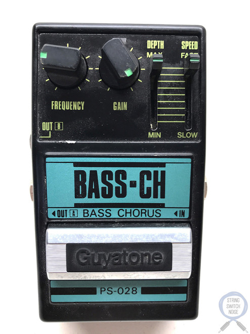Guyatone PS-028, Bass Chorus, Made In Japan,1980's, Original Boxing,Effect Pedal