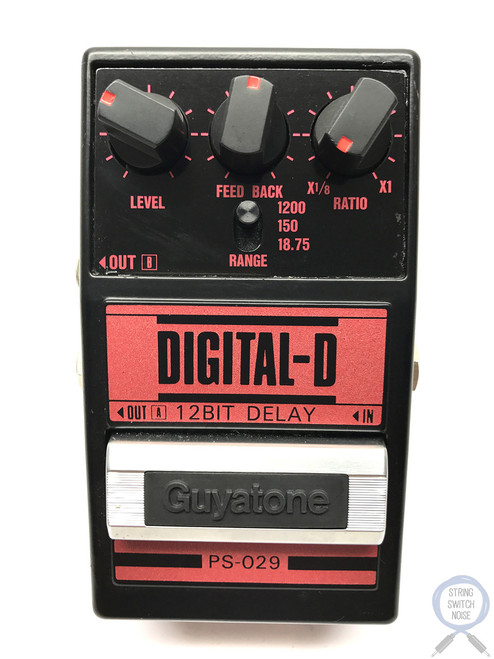 Guyatone PS-029, Digital Delay, 12 BIT, Guitar Effect Pedal, Made In Japan, 80's (3)