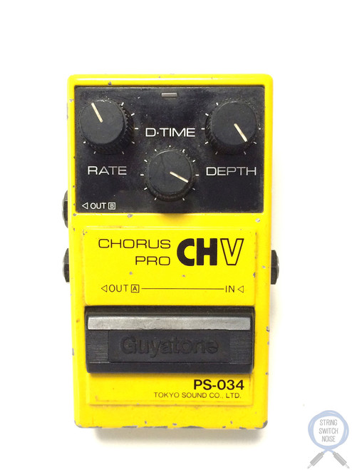 Guyatone PS-034, Chorus, Pro CHV, Made In Japan, 1980's, Vintage Effect