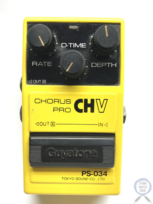 Guyatone PS-034, Chorus, Pro CHV, Made In Japan, 1980's, Vintage Effect (2)