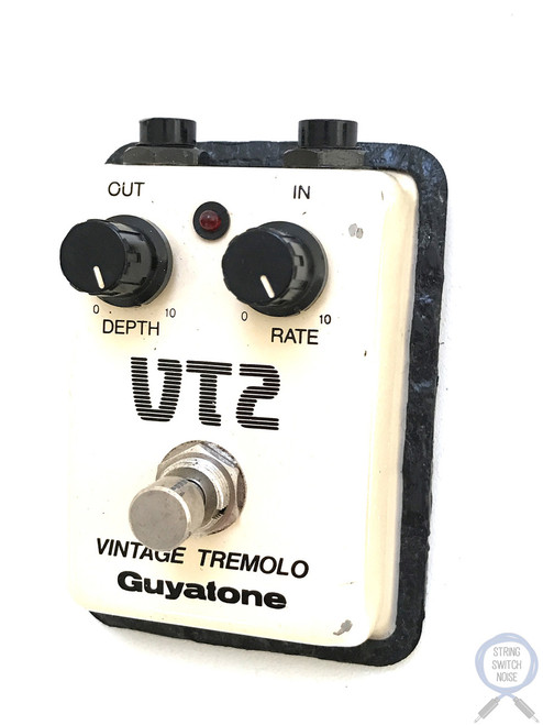 Guyatone VT-2, Vintage Tremolo, Made In Japan, 1980's, Guitar Effect Pedal