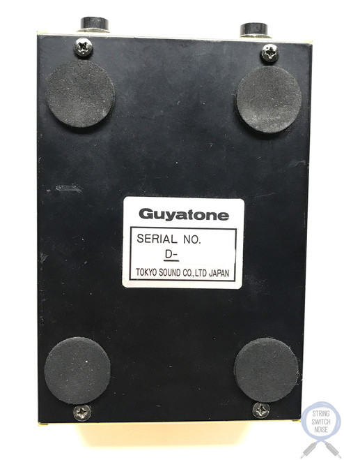 Guyatone OD-X, Flip, Overdrive, Tube Power, Made In Japan, Vintage Guitar Effect