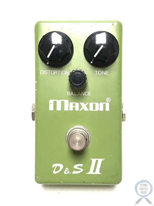 Maxon D&S II Original/Vintage, Distortion, Sustainer, Fuzz, MIJ, 1977