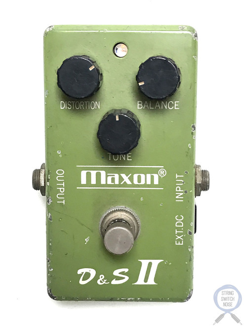 Maxon D&S II, Distortion Sustainer, Fuzz V2, Original, Made In Japan, Late 70's