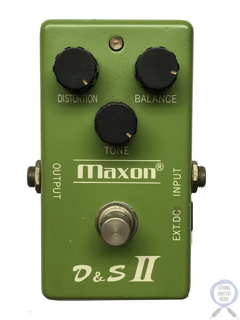 Maxon D&S II, Original, Distortion Sustainer, Fuzz, Made in Japan, 1979, Vintage
