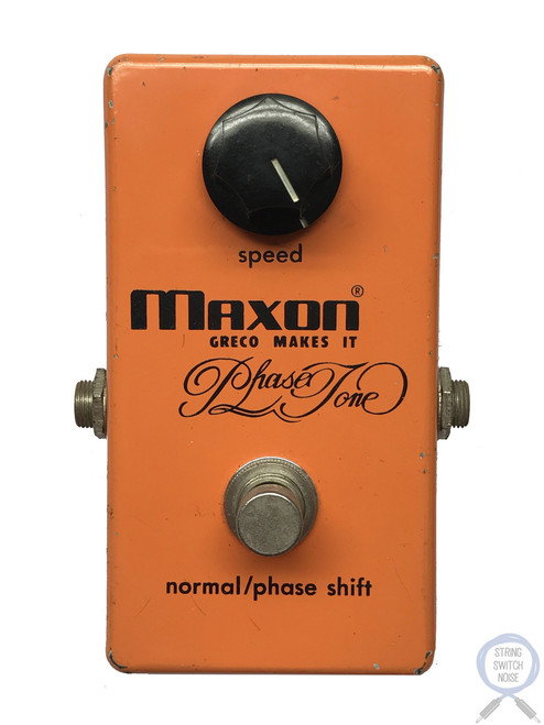 Maxon PT-999, Phase Tone, Made in Japan, 1977, Original Boxing, Vintage Effect