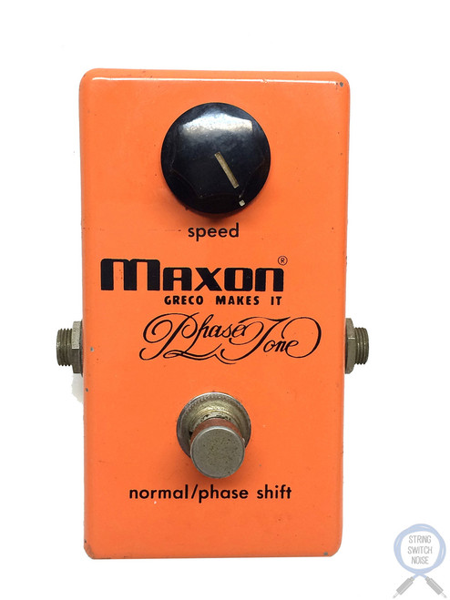 Maxon PT-999, Phase Tone, Made in Japan, 1978, Vintage Guitar Effect Pedal