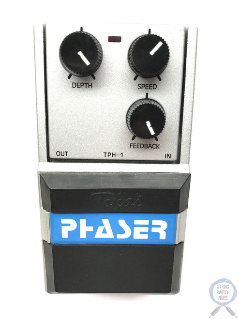 Tokai TPH-1, Phaser, Series One, MIJ, 80's (Silver), Vintage Guitar Effect Pedal (2)