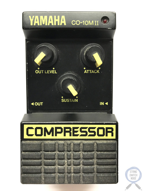 Yamaha C0-10M-II, Compressor, Made In Japan, 1980's, Vintage Effect Pedal