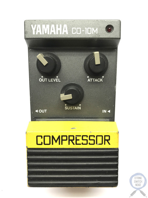 Yamaha CO-10M, Compressor, Made In Japan, 1980's, Vintage Effect Pedal (2)