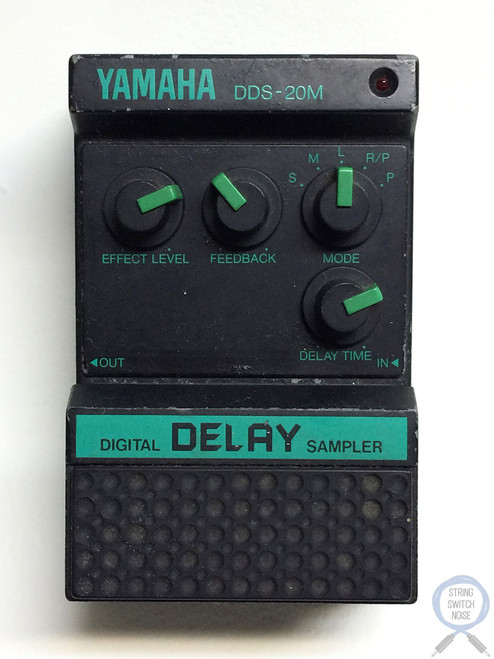 Yamaha DDS-20M, Digital Delay Sampler, Made In Japan, 80's, Guitar Effect Pedal