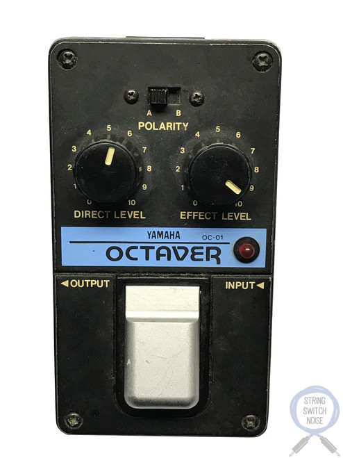 Yamaha OC-01, Octaver, VERY RARE, Made In Japan, 1980s, Vintage Guitar Effect Pedal