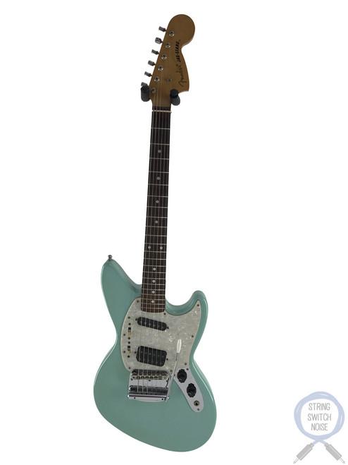 Fender Jagstang, Sonic Blue (Surf Green), 1997, Kurt Cobain, Nirvana