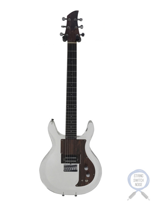 Greco, (Ampeg/Dan Armstrong) Guitar, AP1000, Lucite/Plexi Body, 1989