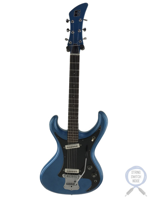 Guyatone LG-150T, Mosrite Style, Blue, 1967