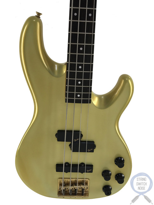 Fender Jazz Bass, Special, Active, P/J Pickups, Gold, 1984, Medium Scale, Rare Find
