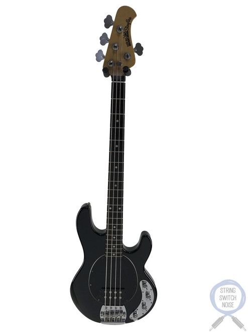 Ernie Ball Music Man, Sting Ray Bass, 1995, Rosewood, Black, OHSC