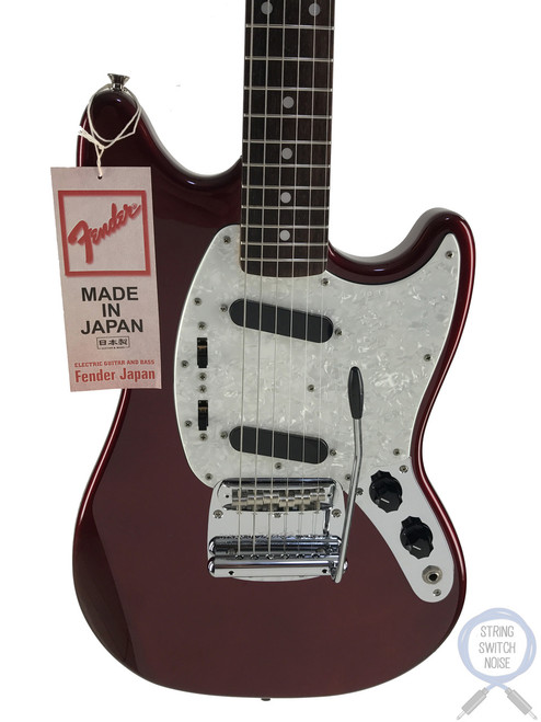 Fender Mustang, '69, Match Headstock, Old Candy Red, 2014, AS NEW