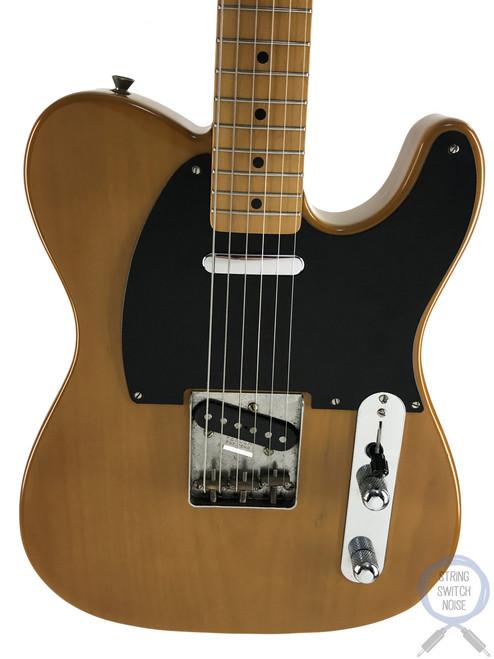 Fender Telecaster, '52, Butterscotch Blonde, 1985, USA PUP