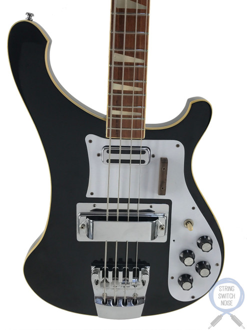 Greco (RB700) 4003 Bass, Ebony/Black, 1975 Vintage, Hard Case
