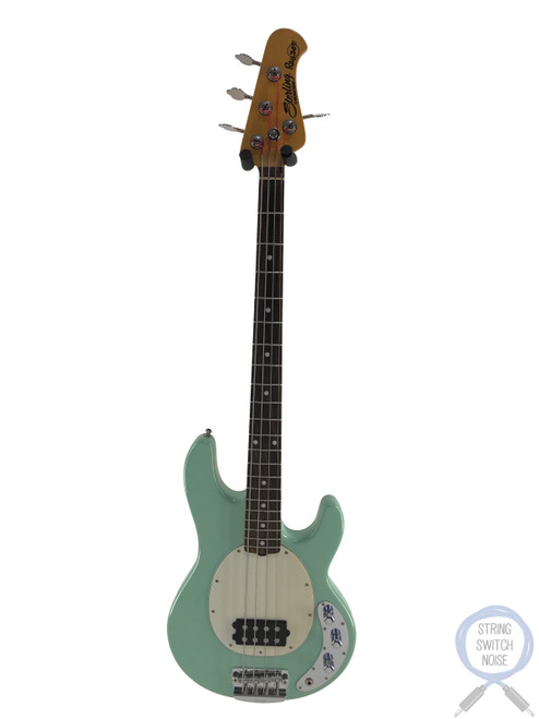 Music Man Sterling, Ray 34, Classic Active Bass, Surf Green, EXC Condition