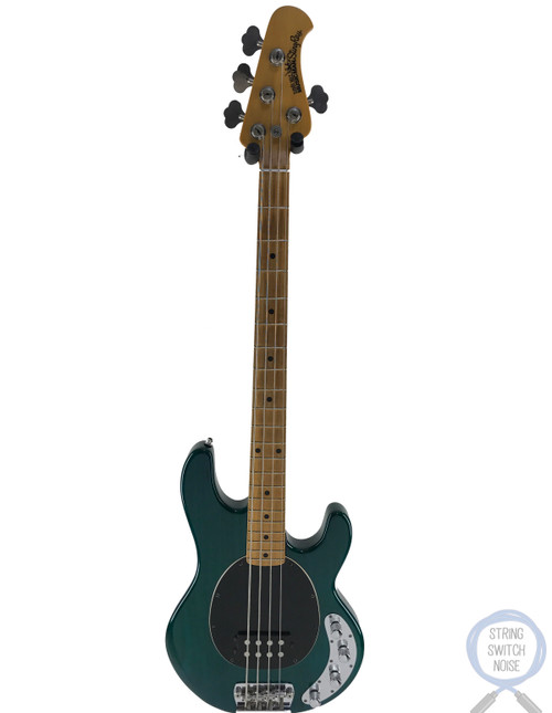 Ernie Ball Musicman, Sting Ray Bass, Forest Green, 1998, USA, OHSC