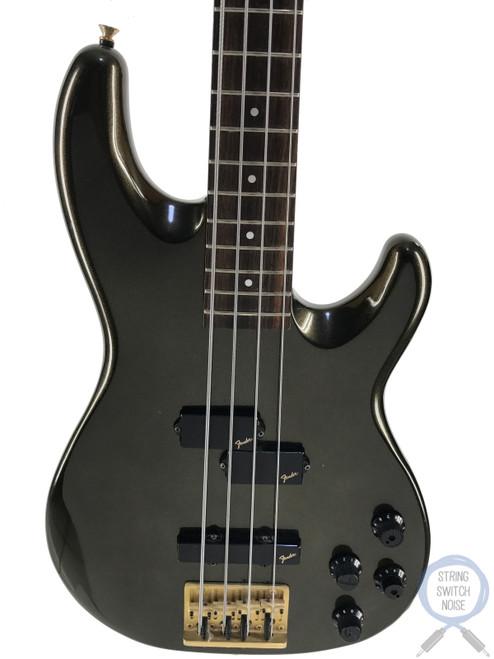Fender Jazz Bass, Special, Active, P/J Pickups, Metallic Black, 1984, Rare Find