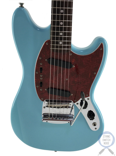 Fender Mustang, '69, Sonic Blue, 2010, NEAR MINT Condition