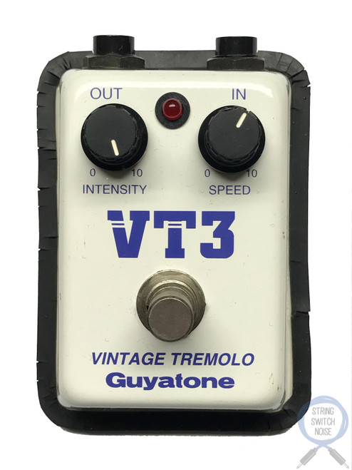 Guyatone VT3, Vintage Tremolo, Vintage Guitar Effect Pedal, 1980's, Made In Japan