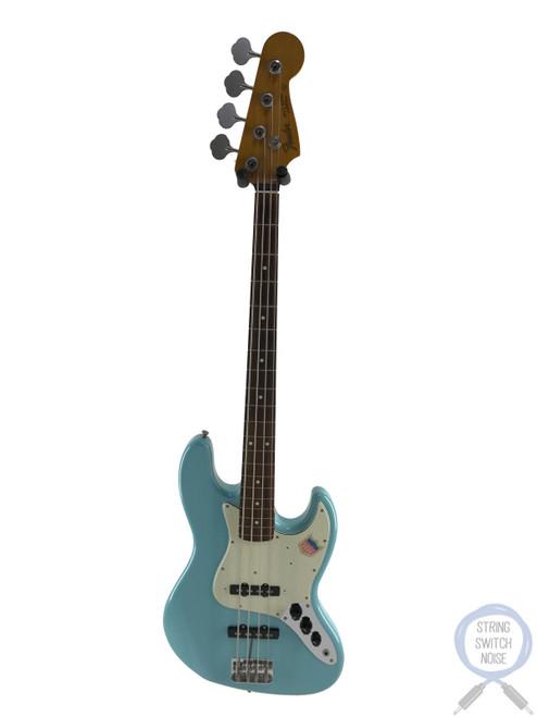 Fender Jazz Bass, '62, Sonic Blue, 2011, USA PUPS, Alder Body