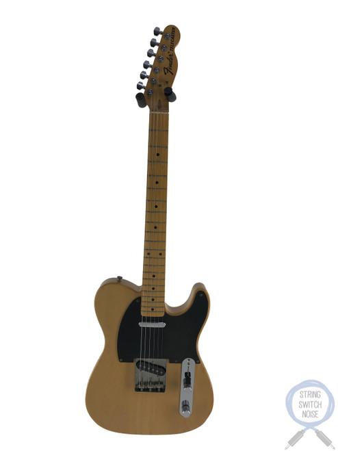 Fender Telecaster, '72, Natural Blonde, Ashwood, 1993
