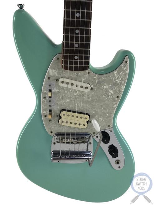 Fender Jagstang, Sonic Blue, 1997, Kurt Cobain, Nirvana