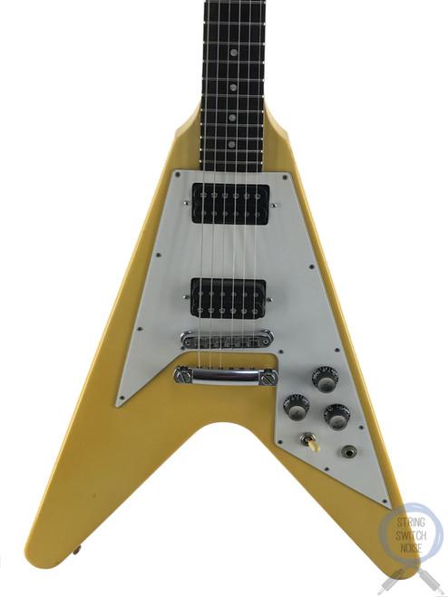 Gibson Flying V, '67, Blonde/Aged White, USA, 2000, OHSC