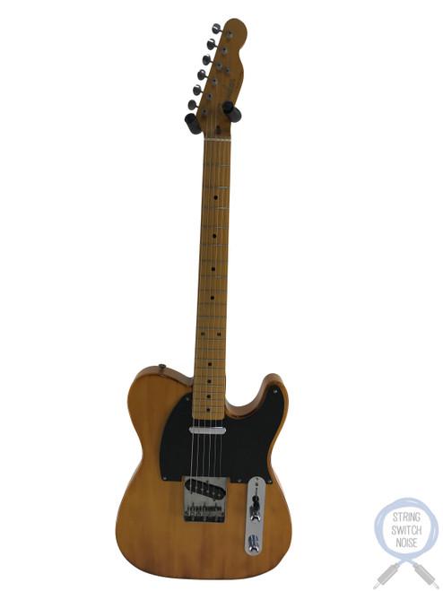 Fender Telecaster, '52, RARE, Charcoal Burst, 1993, Black Guard