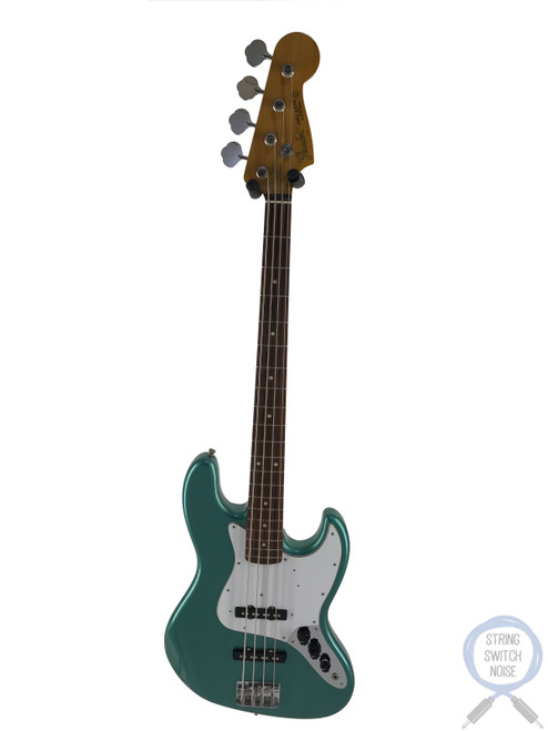 Fender Jazz Bass, '62, Ocean Turquoise Metallic, 2008