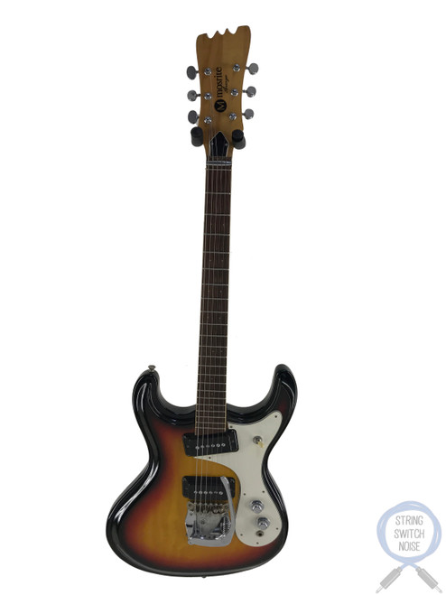 Mosrite Avenger, Firstman, Vintage 1970s, 3 Tone Sunburst, OHSC