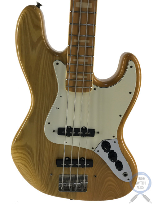 Greco Jazz Bass, JB600, Natural Ash, 1976 vintage, MIJ