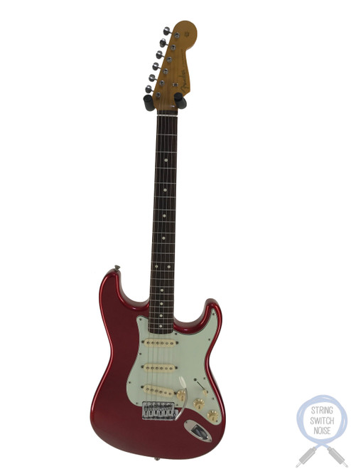 Fender Stratocaster, '62, USA Texas Spec PUPs, 1999, Candy Apple Red