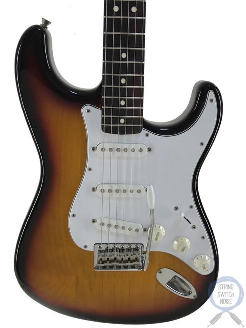 Fender Stratocaster, 3 Tone Sunburst, 2005