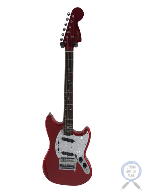 Fender Mustang, '69, Match Headstock, Candy Apple Red, 2011, NEAR NEW