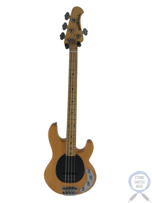 Ernie Ball Music Man, Sting Ray Bass, 4H, Natural, OHSC