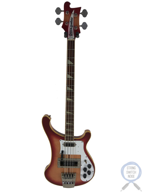 Greco RB700 Bass, Red-Fire Glo-Sunburst, 1980, VINTAGE