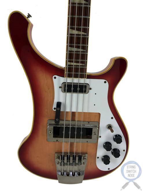 Greco RB700 Bass, Red-Fire Glo-Sunburst, 1980, VINTAGE