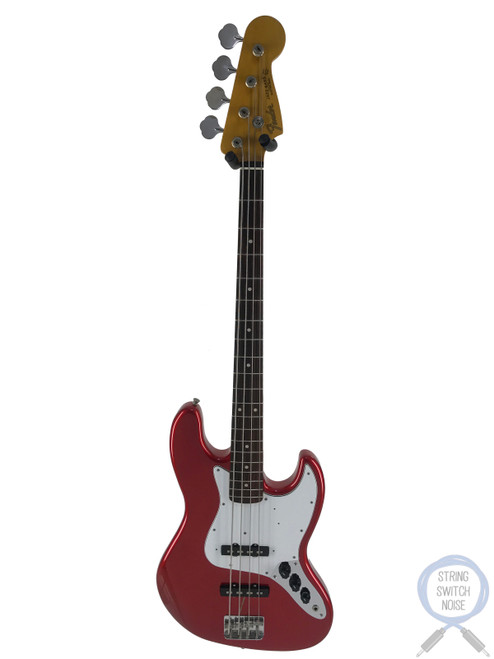 Fender Jazz Bass, '62, Candy Apple Red, 1999, EXC COND