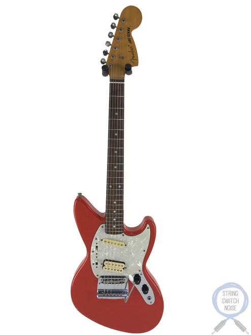 Fender Jagstang, Fiesta Red, 1995, Kurt Cobain, Nirvana