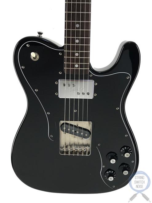 Fender Telecaster Custom, '72, Black on Black, 1995, Ash Body