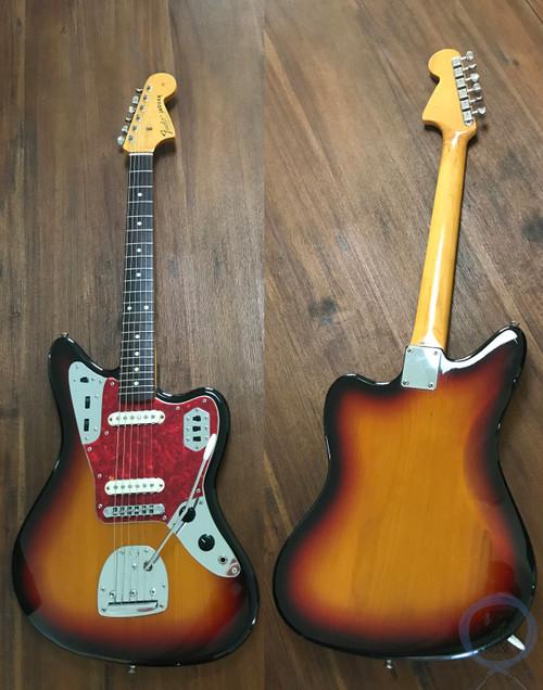 Fender Jaguar, '66, 3 Tone Sunburst, 1997