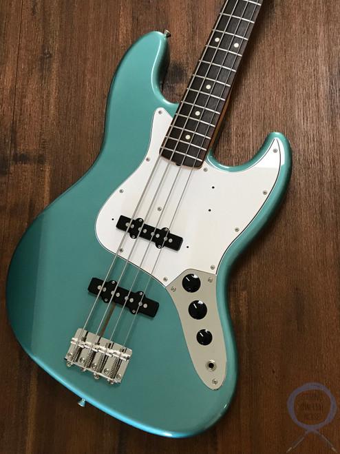Fender Jazz Bass, '62, Ocean Turquoise Metallic, 2010, Near new