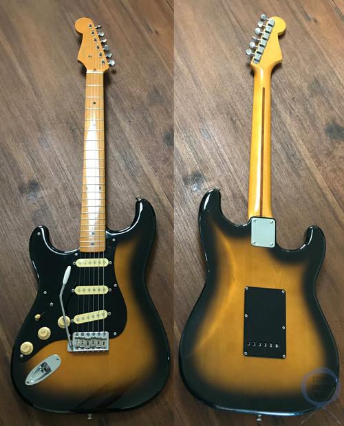 Fender Stratocaster, LEFT HAND, '57, 2 Tone Sunburst, 1994